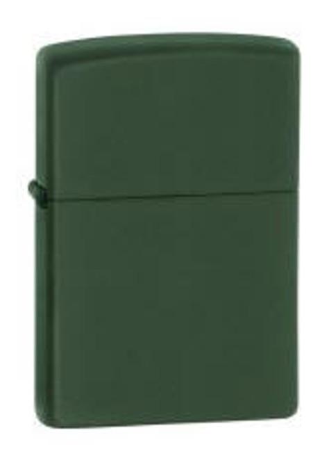 Zippo Lighter, Green Matte