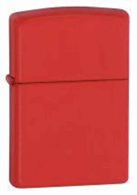 Zippo Lighter, Red Matte