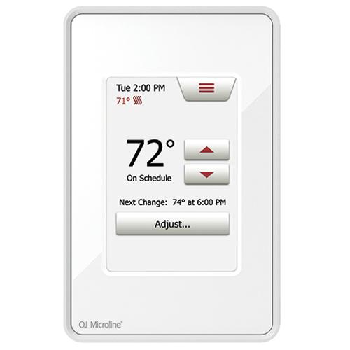 OJ Microline Touch Thermostat model UDG4-4999
