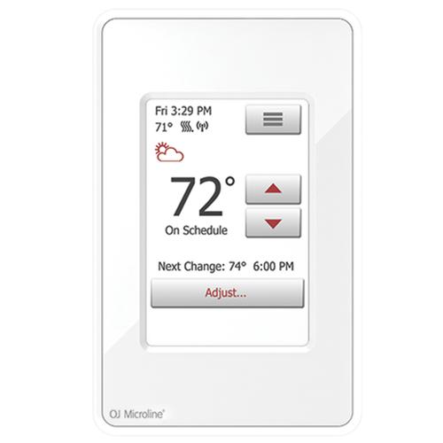 OJ Microline Remote & Touch Thermostat model UWG4-4999