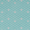 Gift Wrap - Nami - Silver on Blue