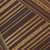 Gift Wrap - Lines - Metallic Copper