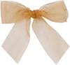 Organdy Ribbon - Wheat