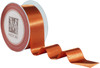 Custom Printing on Double Faced Satin Ribbon - Mandarin