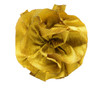 Dupioni Rose Topper - Harvest Gold