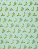 Banana – Mint/Yellow/Cream & Black Metallic