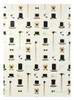 Gift Wrap - Gentleman - Cream/Metallic Black and Gold