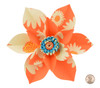 Paper Daisy Topper - Orange