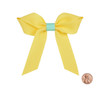 Two color Grosgrain Bow: Maize Topper