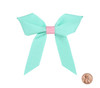 Two color Grosgrain Bow: Breeze Topper