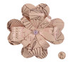 Paper Petal Flower Topper Shell