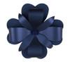Paper Petal Flower Topper Navy
