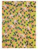 Gift Wrap - Pear and Blossom - Peach/Lime Green/Dark Green/White