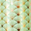 Sunshine - Mint Green, Pink Metallic/Gold Foil