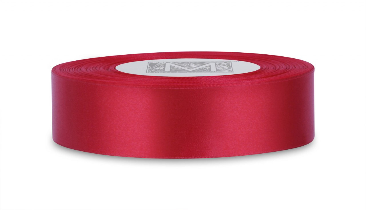 "Red animal print 1 1//2/"" Double Faced Satin Ribbon 10 yards"