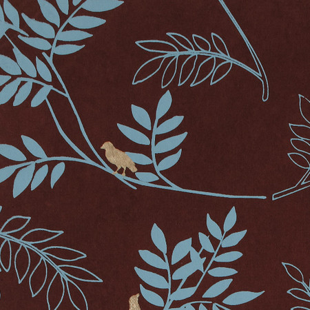 Gift Wrap - Twig - Brown