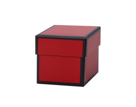 Favor Box Set - Red Trim