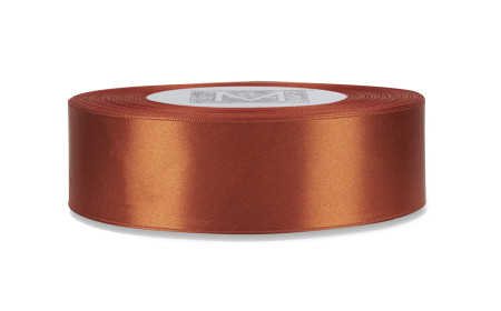 Double Faced Satin Ribbon - Antique Copper