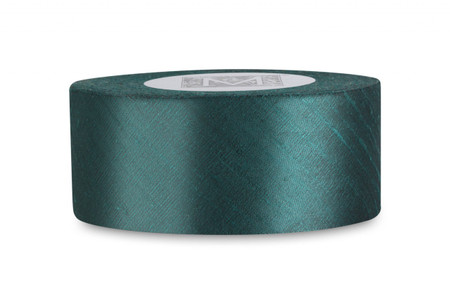 Dupioni Silk Ribbon - Trance Green