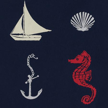 Gift Wrap - Nautical - Navy