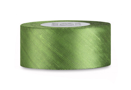 Dupioni Silk Ribbon - Peridot