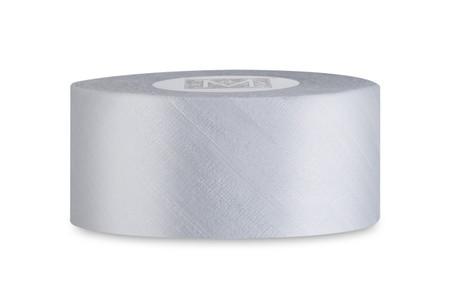 Dupioni Silk Ribbon - Platinum Blue