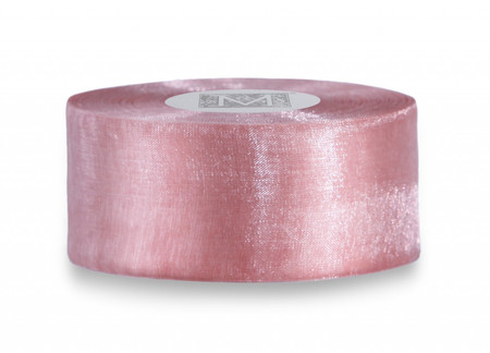 Organdy Ribbon - Pink Grapefruit