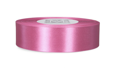 Custom Printing on Double Faced Satin Ribbon - Peony