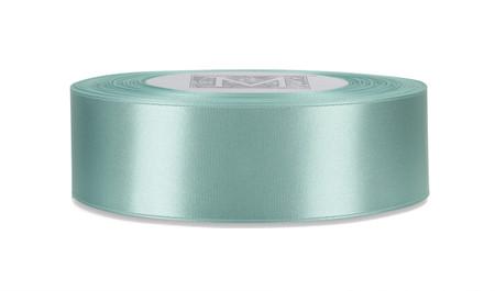 Custom Printing on Double Faced Satin Ribbon - Aquamarine