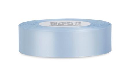 Custom Printing on Double Faced Satin Ribbon - Powder Blue