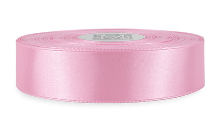 Custom Printing on Double Faced Satin Ribbon - Blush
