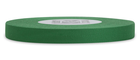Custom Printing on Herringbone Ribbon - Green Leaf
