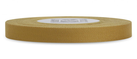 Custom Printing on Herringbone Ribbon - Antique Gold