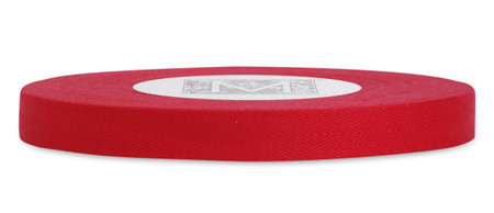 Custom Printing on Herringbone Ribbon - Red