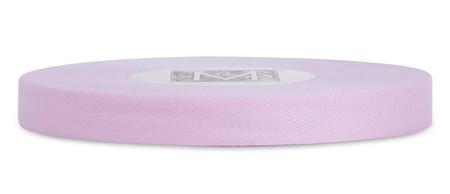 Custom Printing on Herringbone Ribbon - Blush