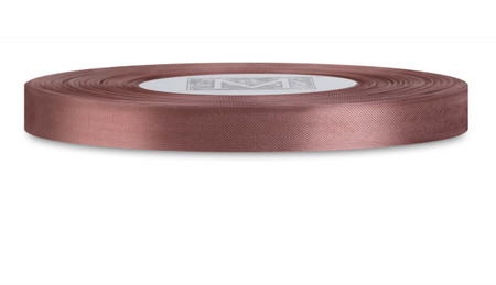 Custom Printing on Rayon Trimming Ribbon - Milk Chocolate