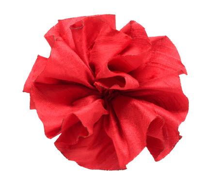 Dupioni Rose Topper - Poppy