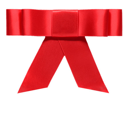 Layered Bow Topper - Red