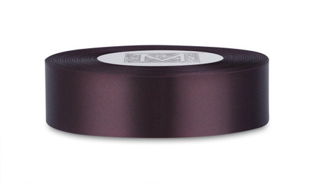 Double Faced Satin Ribbon - Cassis