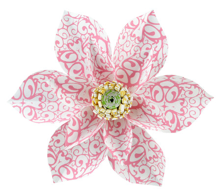 Paper Daisy Topper - Ladybug Pink