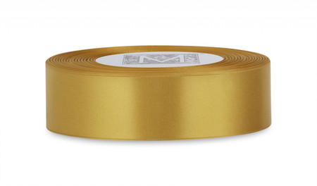 Double Faced Satin Ribbon - Imperial Gold