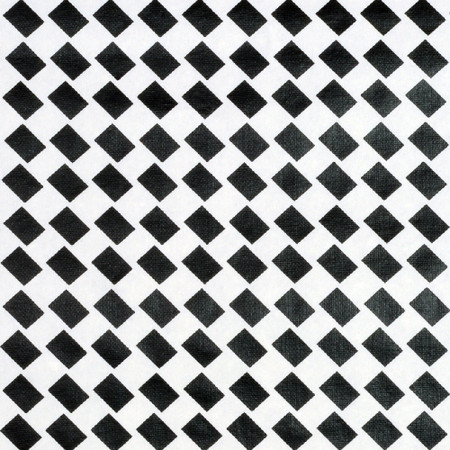 Gift Wrap - Woven Checkers - White/Black