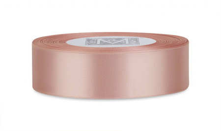Double Faced Satin Ribbon - Tea Rose