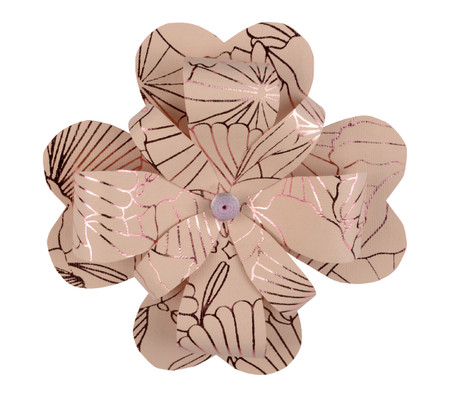 Paper Petal Flower TopperShell