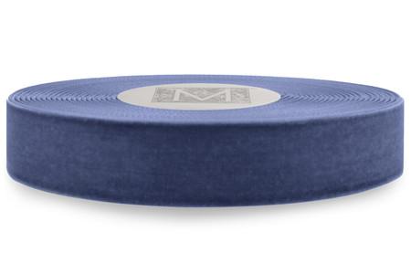 Japanese Velvet - Dusty Blue