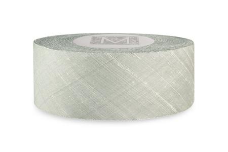 Dupioni Silk Ribbon - Silver