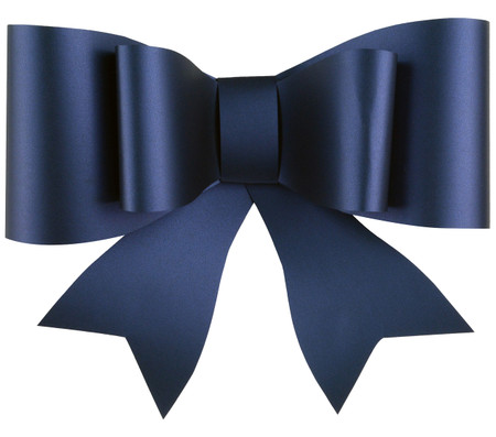 Paper Bow Topper Navy
