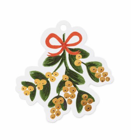 Paper Tag - Mistletoe