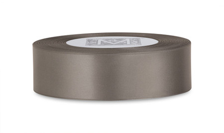 Double Faced Satin Ribbon - Slate