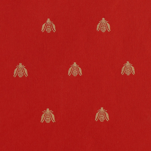 Gift Wrap - Bee - Red